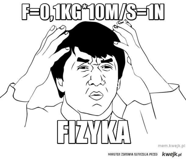 f=0,1kg*10m/s=1n
