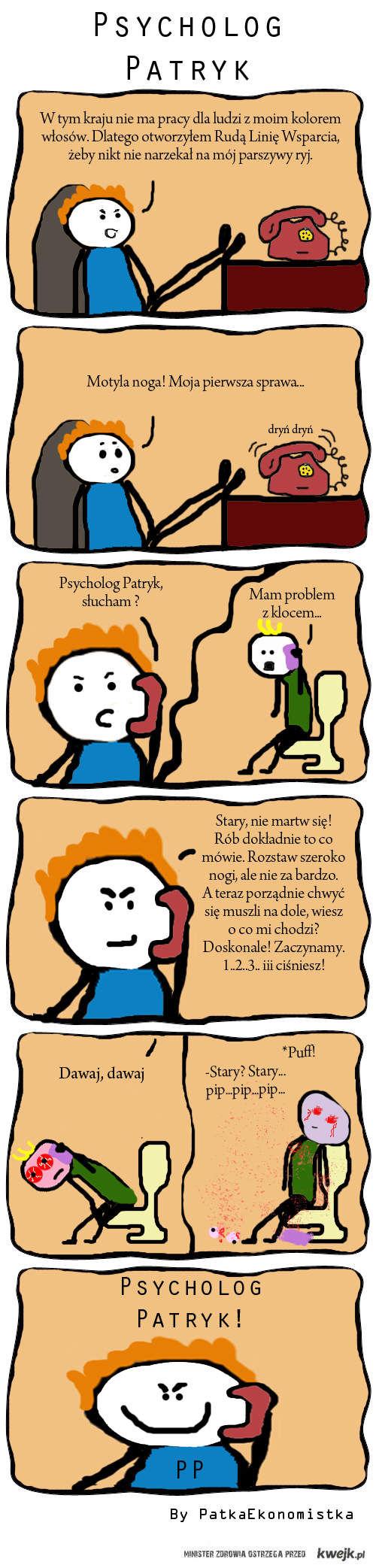 Psycholog Patryk :D
