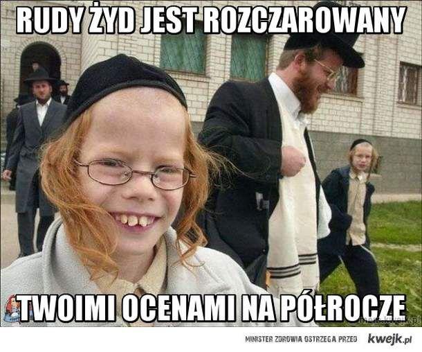 rudy żyd jest rozczarowany