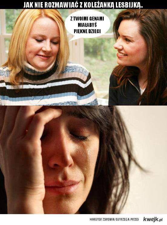 Problemy Lesbijek