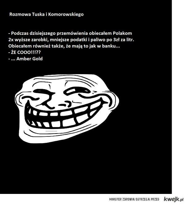 Tusk i Komorowski
