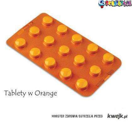 Tablety w Orange
