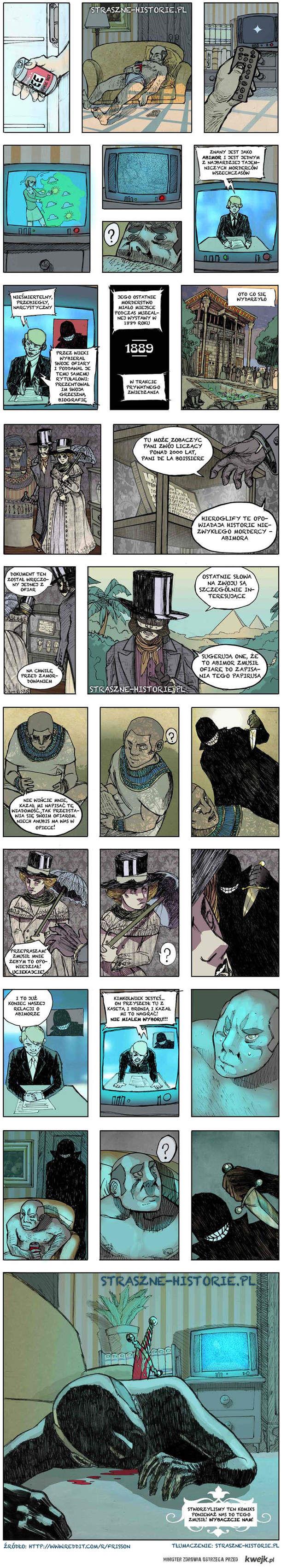 Komiks o mordercy