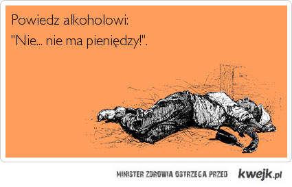 powiedz alkoholowi