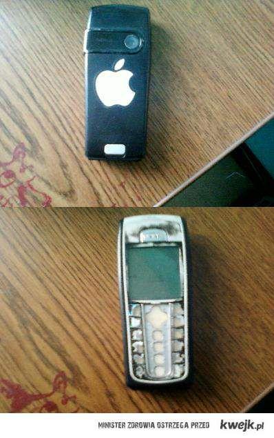 Widzę iPhone xD