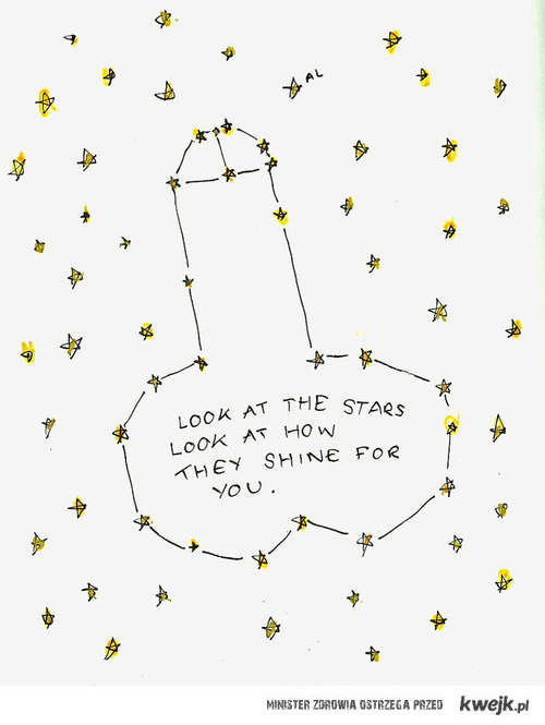 Look at the stars!