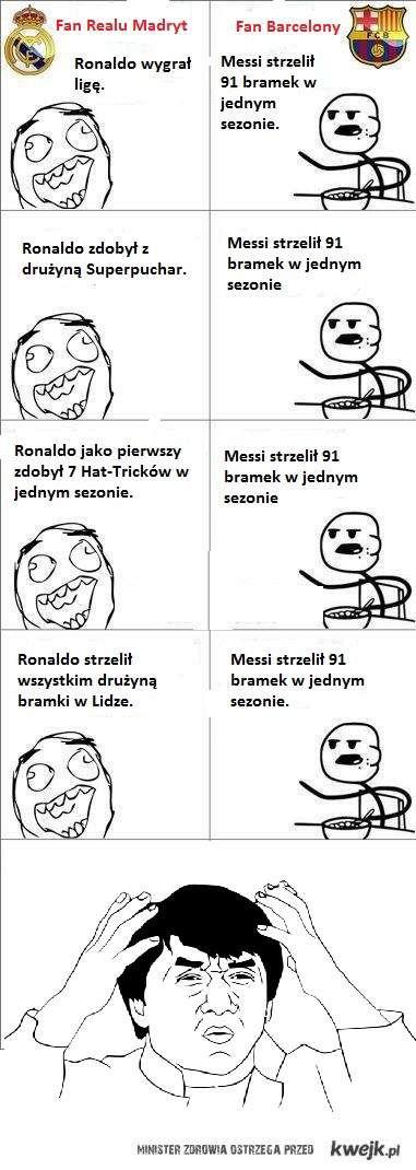 Ronaldo vs. Messi