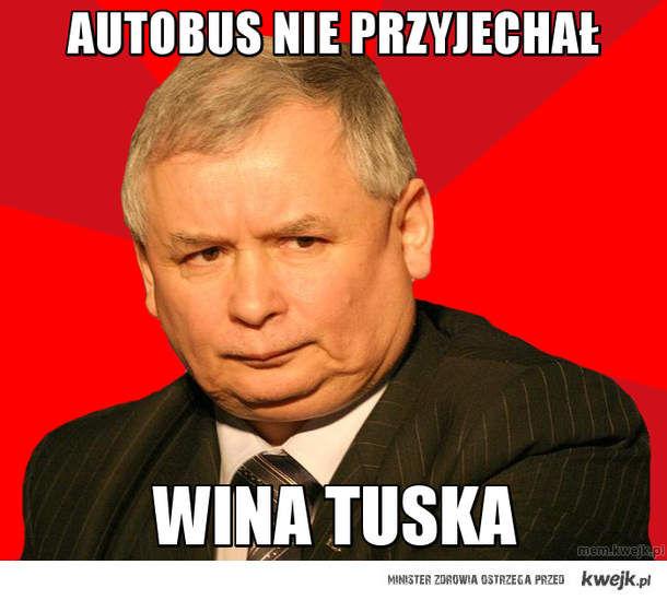AUTOBUS NIE PRZYJECHAŁ