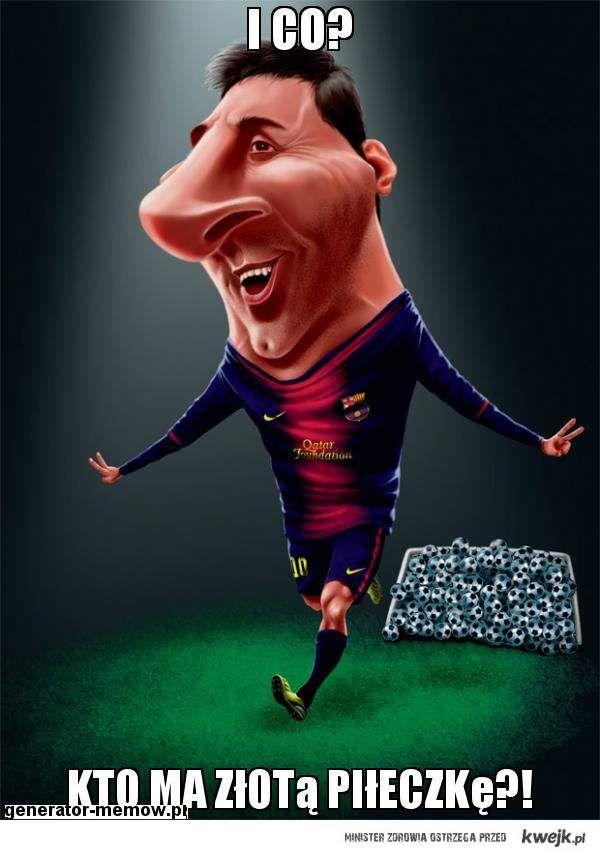 Messi i złota piłka