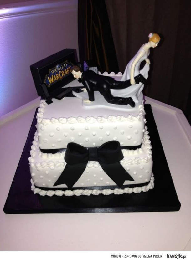Gamingowy tort