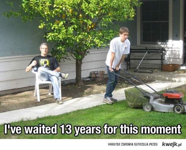 Czekalem na to 13 lat