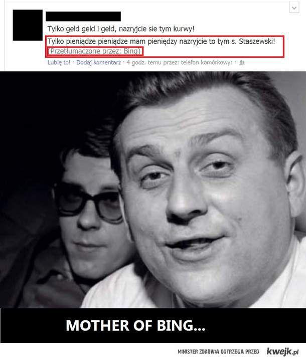 Stanislaw Staszewski wg BING