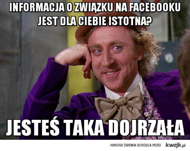 informacja o związku na facebooku jest dla ciebie istotna?