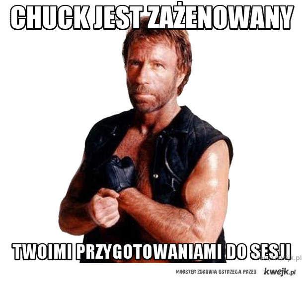 Chuck jest zażenowany