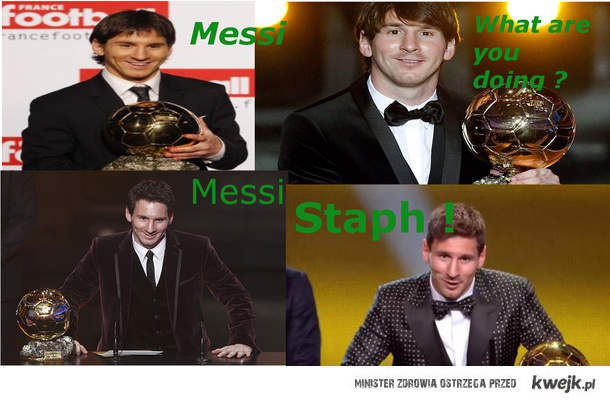 Messi, what are you doing ?