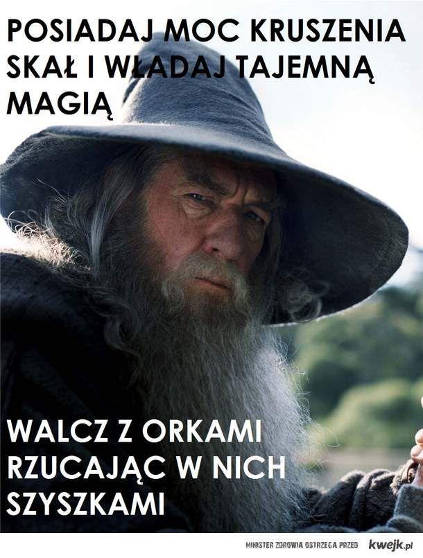 gandalf mem szyszki