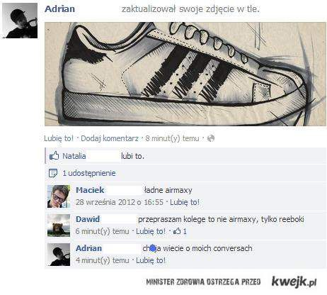 rozmowa o butach
