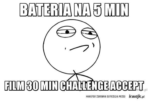 bateria na 5 min