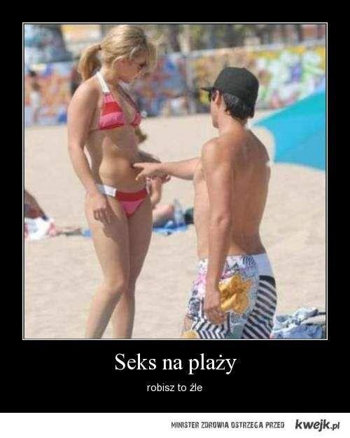 seks na plazy