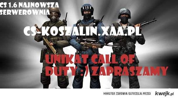 Serwerownia Counter-Strike