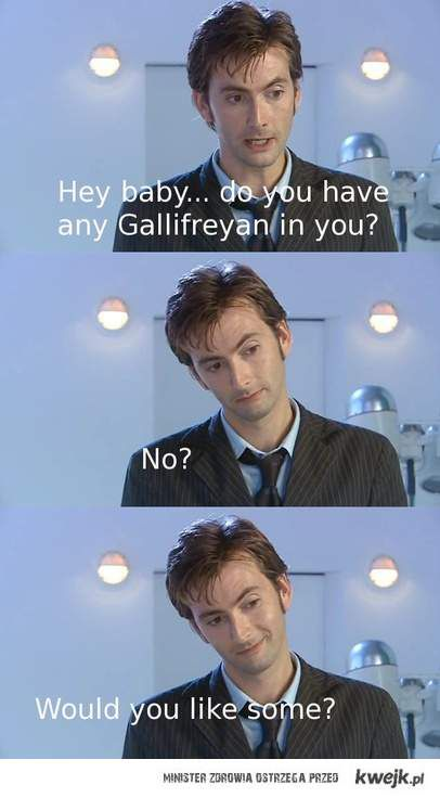 time lord pick up line