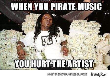 nie piratuj