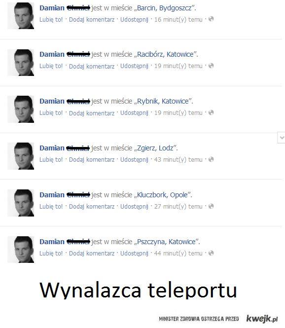 Mistrz teleportacji...