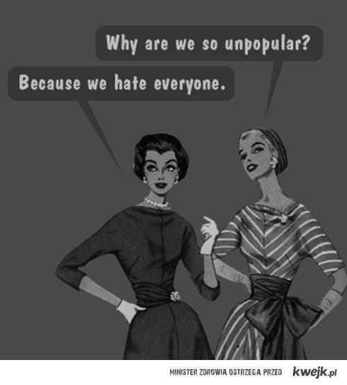 unpopular