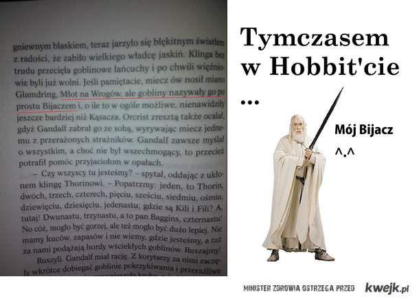 Gandalf i jego miecz !