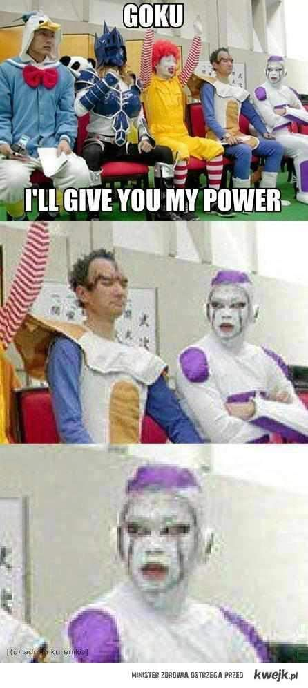 energia dla  Goku