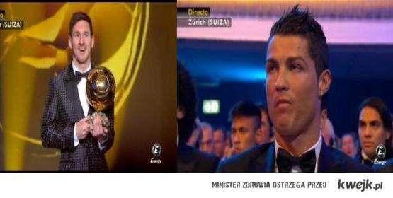 Messi i CR7