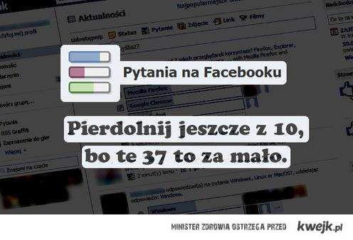 Pytania Facebook