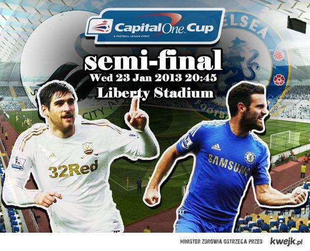 Swansea vs Chelsea (Capital One Cup)