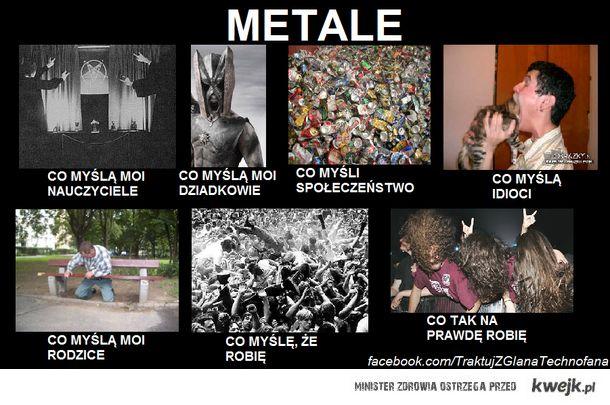 co myślą o metalach