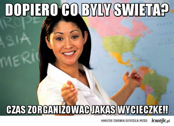 Dopiero co byly Swieta?