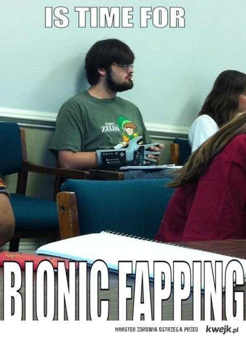 bionic fapping