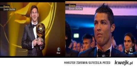 MESSI i Ronaldo