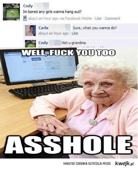 Zła babcia