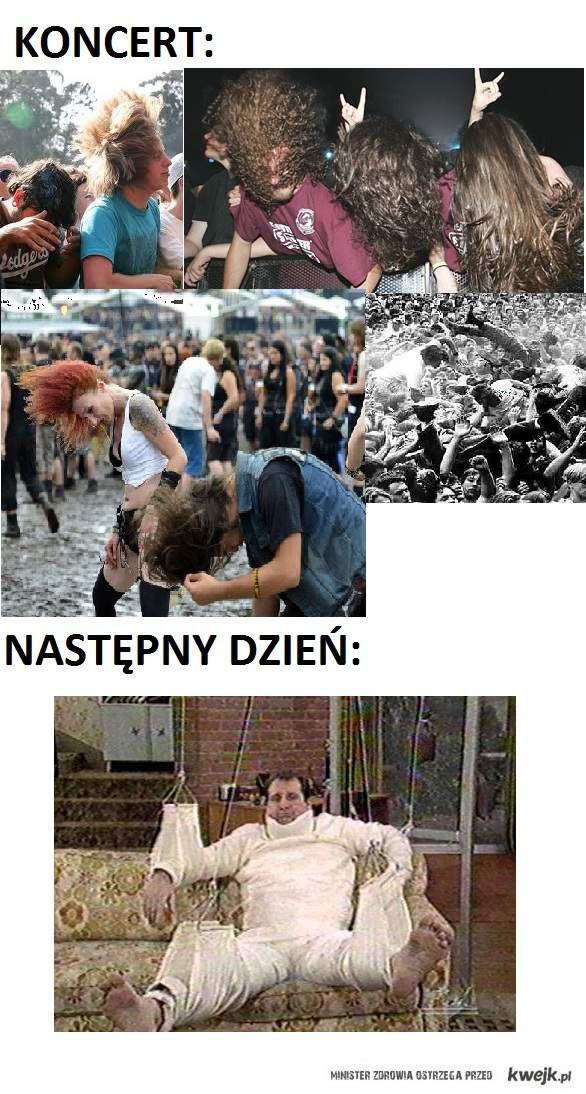 smutna prawda o koncertach