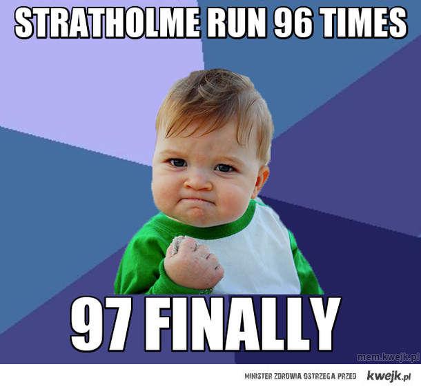 Stratholme Run 96 Times