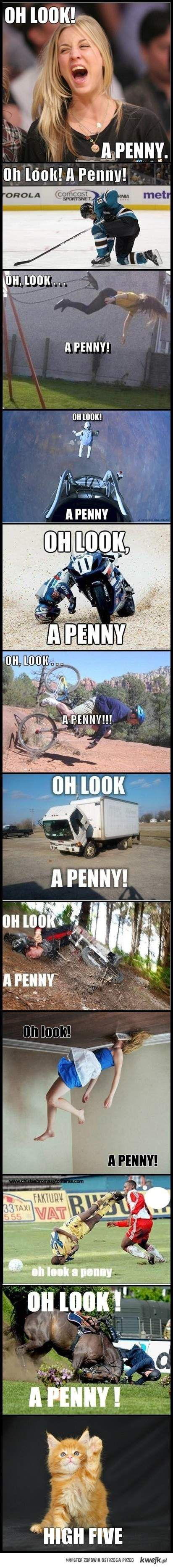 oh look a penny!