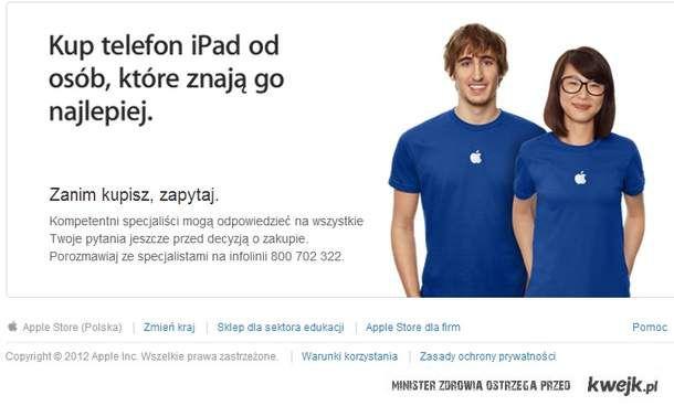 Apple swoje produkty zna najlepiej