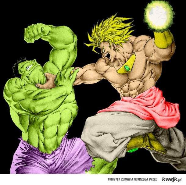 Brolly vs Hulk