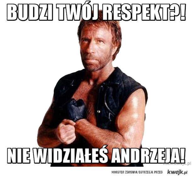 Budzi twój respekt?!