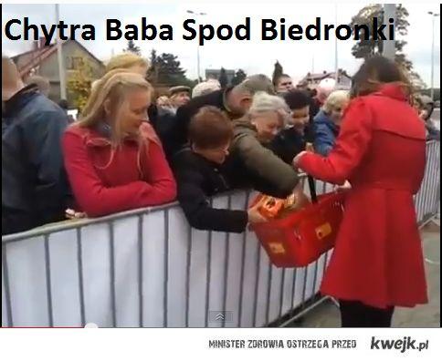 Chytra Baba Spod Biedronki