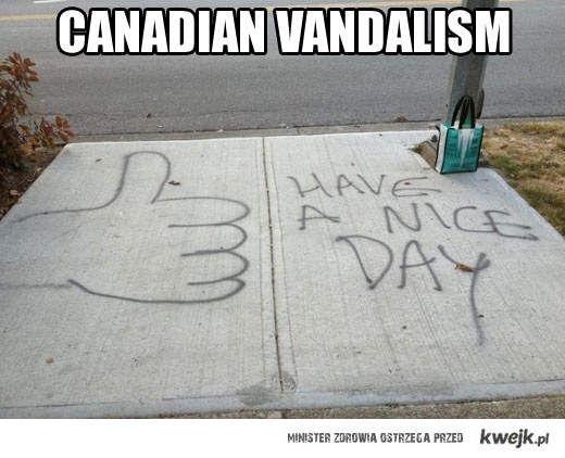Kanadyjski wandalizm