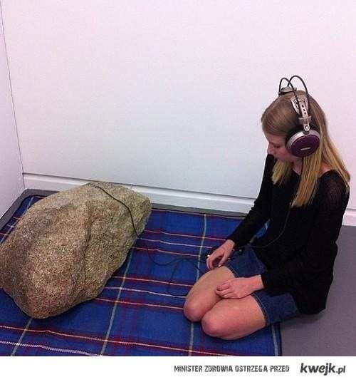 słuchanie rocka
