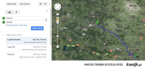 Mam blisko do Mordoru :)