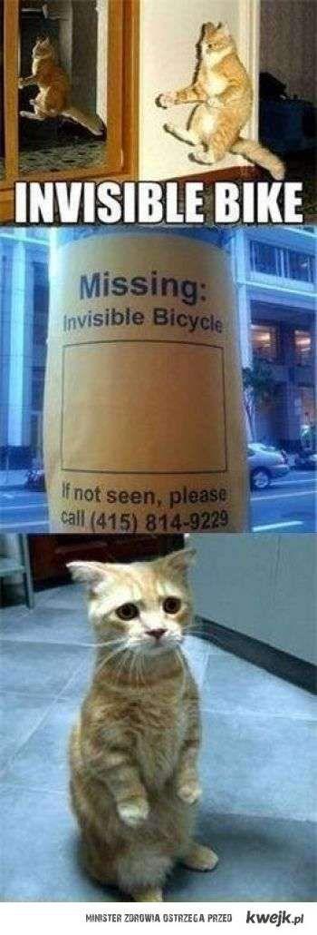 niewidzialny rower