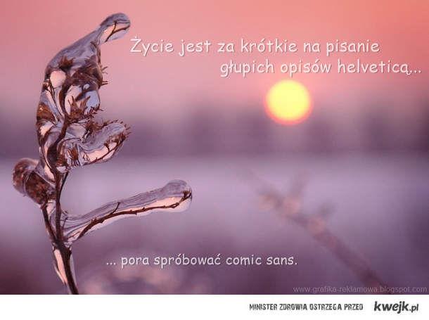 Pora na Comic Sans